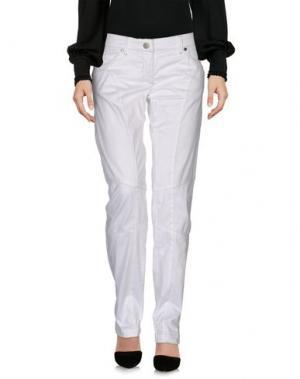 Повседневные брюки AERONAUTICA MILITARE. Цвет: белый
