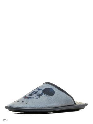 Тапочки BRIS. Цвет: серый