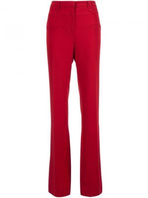 Расклешенные брюки Altuzarra. Цвет: красный