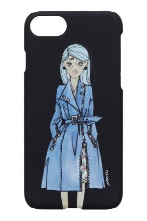 Матовый чехол для iPhone 7 Alexander Terekhov. Цвет: черный