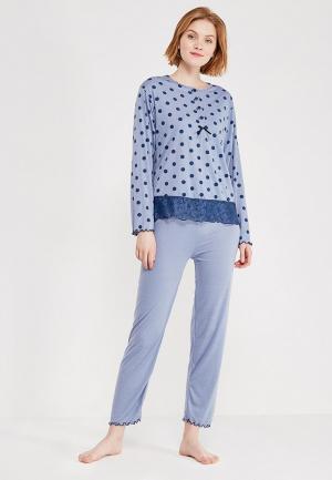 Пижама Cootaiya. Цвет: синий
