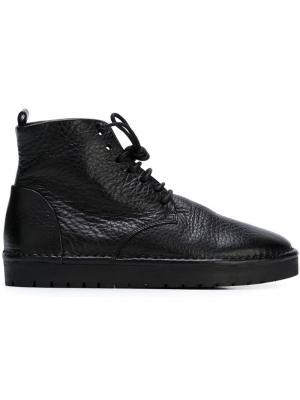 Ботинки дезерты Marsèll. Цвет: чёрный