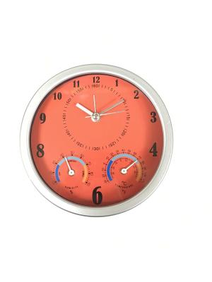 Часы настольные ArteNuevo. Цвет: красный