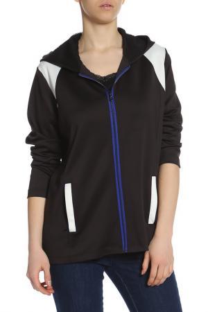 Куртка спортивная Elena Miro. Цвет: черный