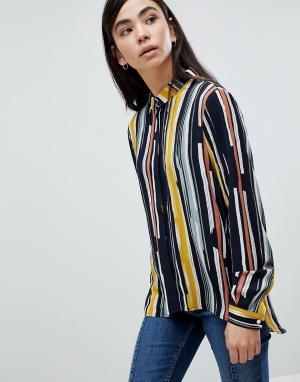 MbyM Рубашка в полоску. Цвет: мульти