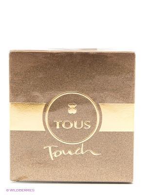 Туалетная вода Tous Touch, 30 мл. Цвет: коричневый, серебристый