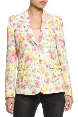 Пиджак SEVENTY. Цвет: желто-розовый