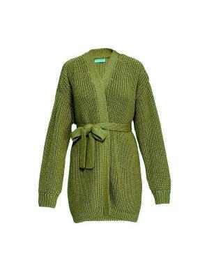 Кардиган Gelato Wooly's. Цвет: оливковый
