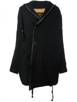 Пальто Ludovico Uma Wang. Цвет: чёрный