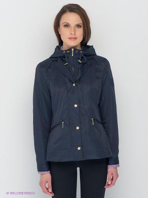 Куртка Lisa Campione. Цвет: темно-синий
