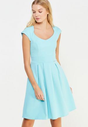Платье Vivostyle. Цвет: бирюзовый