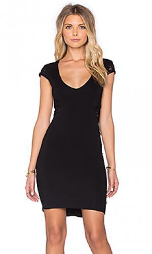 Мини платье twenty. Цвет: черный