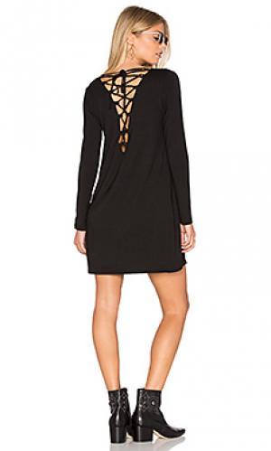 Мини платье shane De Lacy. Цвет: черный