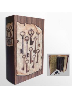 Шкатулка-сейф Ключи Magic Home. Цвет: белый