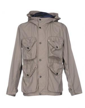 Куртка NEMEN. Цвет: голубиный серый