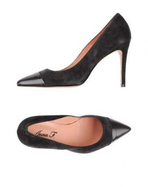 Туфли ANNA F.. Цвет: свинцово-серый