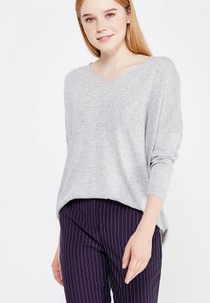 Пуловер Jean Louis Francois. Цвет: серый