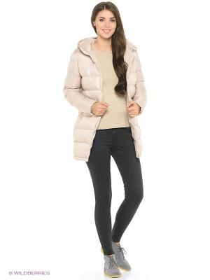 Утепленная куртка Modis. Цвет: серый, бежевый