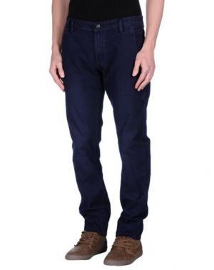 Повседневные брюки DATCH. Цвет: синий