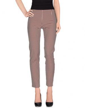 Повседневные брюки ROSE & LINI. Цвет: красно-коричневый