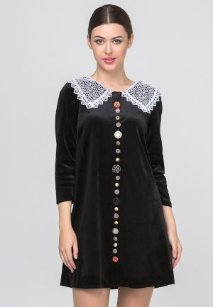 Платье HandyWear. Цвет: черный