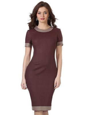 Платье GREY CAT. Цвет: коричневый