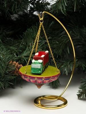 Статуэтка Грузовик Mister Christmas. Цвет: красный