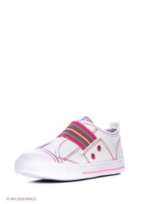 Ботинки EcoTex Zebra. Цвет: белый
