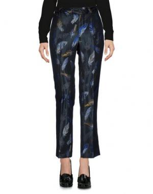 Повседневные брюки GIULIETTE BROWN. Цвет: свинцово-серый