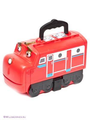 Кейс для хранения паровозиков Большой Уилсон Chuggington. Цвет: красный