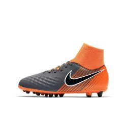 Футбольные бутсы для игры на искусственном газоне школьников  Jr. Magista Obra II Academy Dynamic Fit AG-PRO Nike. Цвет: серый