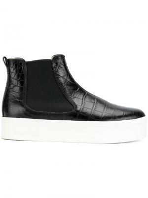 Ботинки челси с эффектом крокодиловой кожи Marc Jacobs. Цвет: чёрный