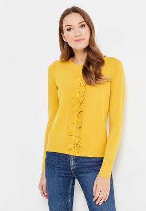 Кардиган La Petite Etoile. Цвет: желтый