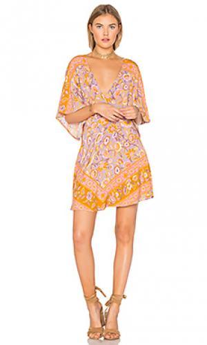 Мини платье lolita Spell & The Gypsy Collective. Цвет: розовый