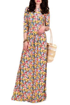 Платье FRANCESCA LUCINI. Цвет: солнечный