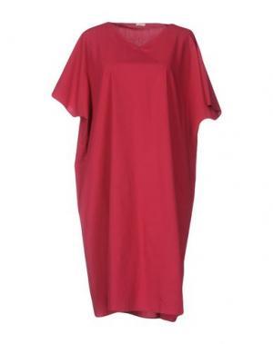 Короткое платье A.B APUNTOB. Цвет: пурпурный