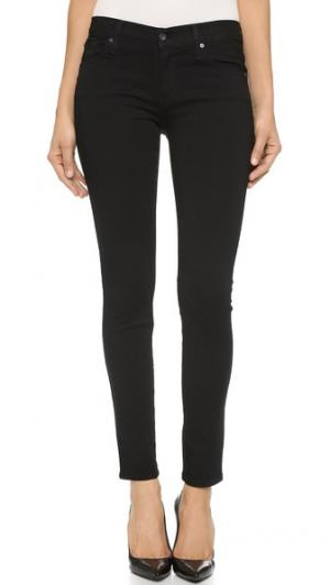 Джинсы-скинни Twiggy с 5 карманами James Jeans. Цвет: чистый черный