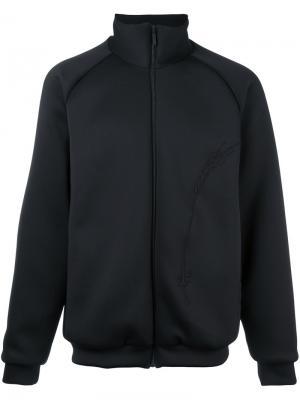 Спортивная куртка на молнии Cottweiler. Цвет: чёрный