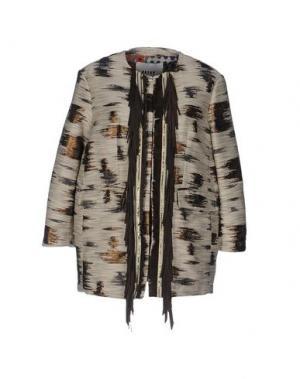 Куртка BAZAR DELUXE. Цвет: бежевый