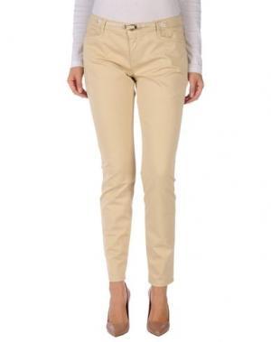 Повседневные брюки JECKERSON. Цвет: бежевый