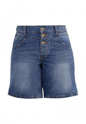 Шорты джинсовые Just Joan. Цвет: синий