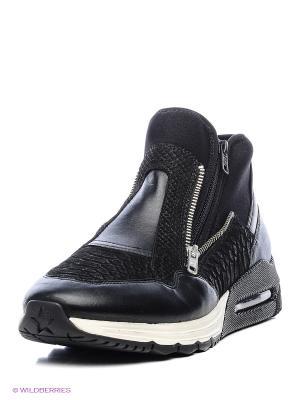 Ботинки ASH. Цвет: черный, серый