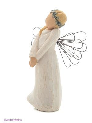 Фигурка Willow Tree (Ангел праздника, 13 см). Цвет: белый