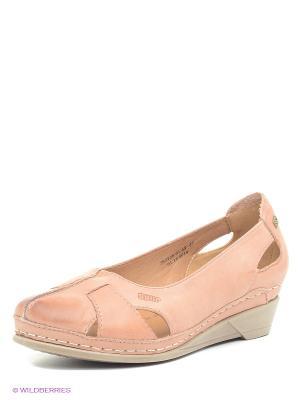 Туфли Spur. Цвет: персиковый