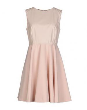 Короткое платье NORA BARTH. Цвет: телесный