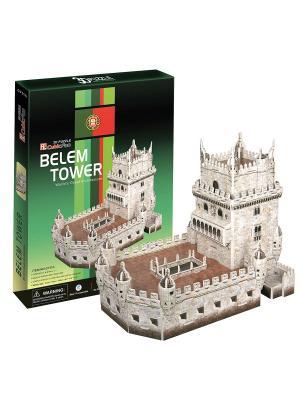 Пазл Башня Белен CubicFun. Цвет: серый
