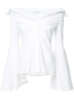 Рубашка Persephone Caroline Constas. Цвет: белый