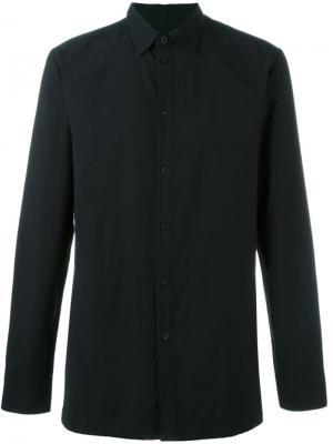 Рубашка с панельным дизайном Helmut Lang. Цвет: чёрный