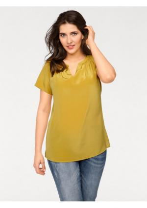 Блузка PATRIZIA DINI. Цвет: желтый