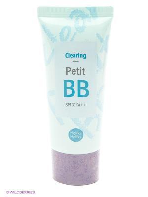 Тональный BB крем Petit (мягкость и шелковистость), 30 мл Holika. Цвет: светло-голубой